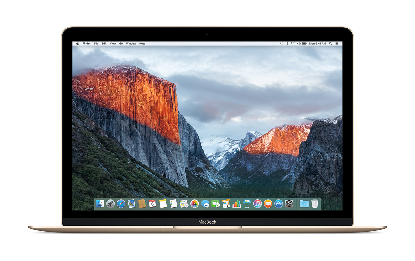 OS X El Capitan MacBook