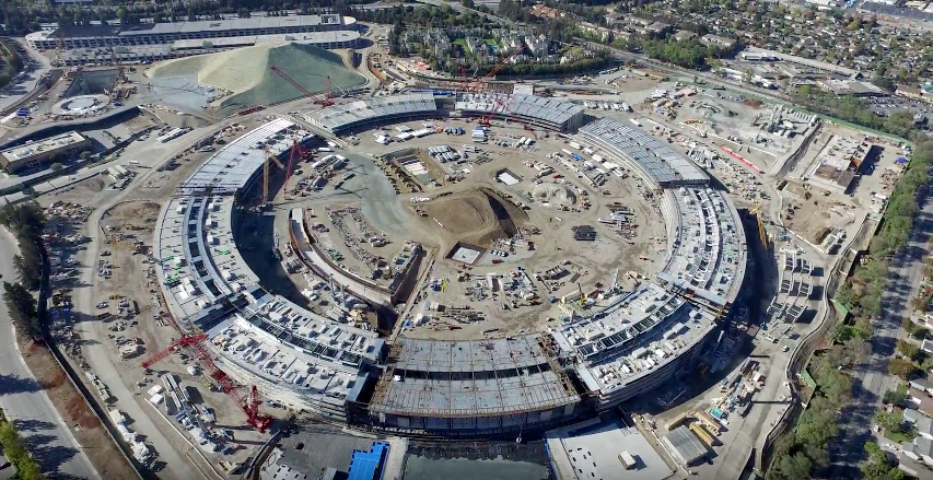 Apple Campus 2 November 2015 Construction Update in 4K feat. Kygo