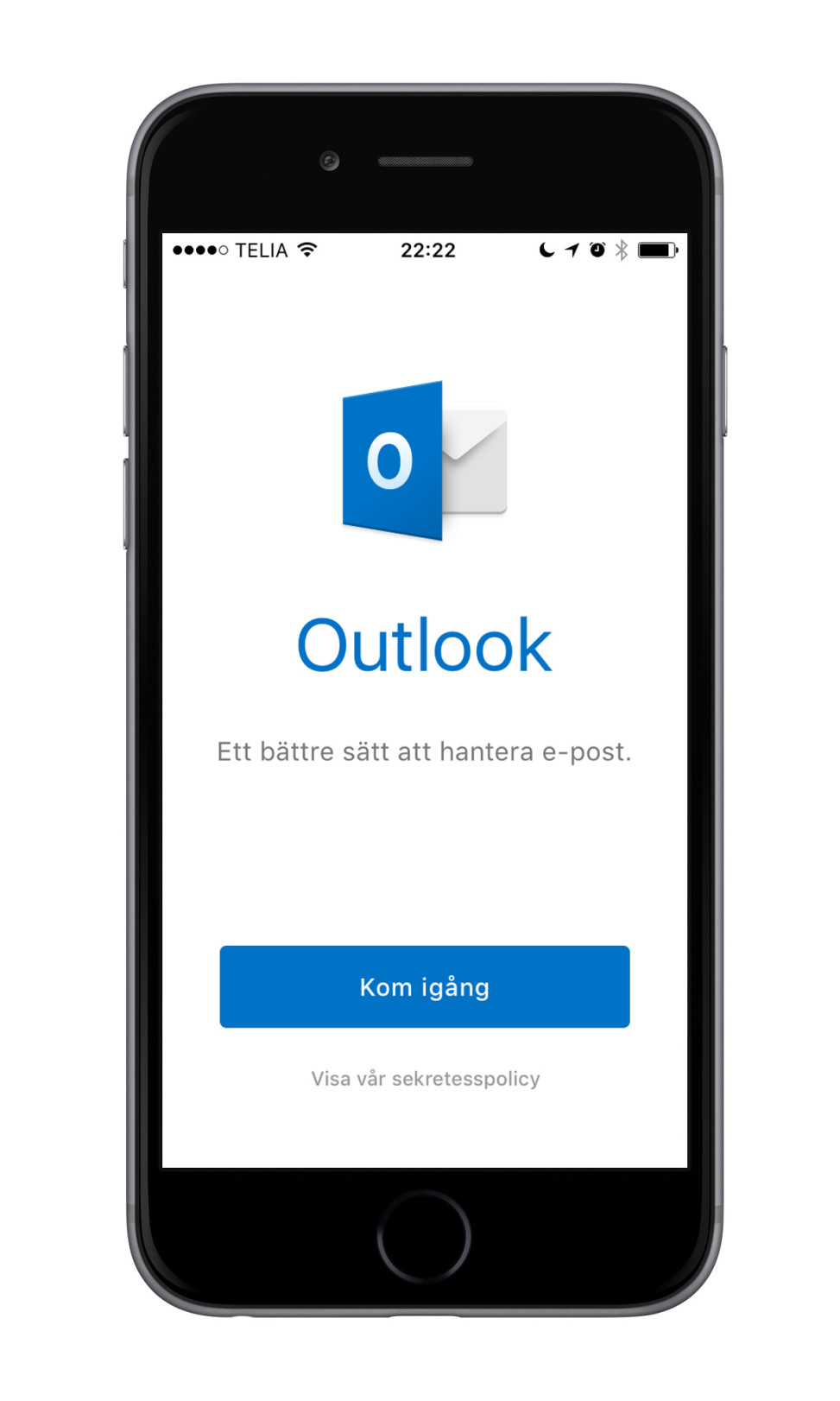 iPhone 6 Microsoft Outlook