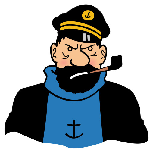 Capitaine Haddock