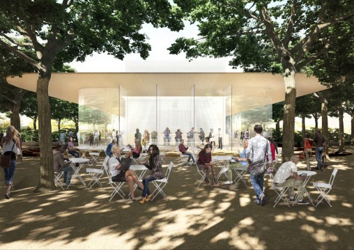 Apple Campus 2 visitor center