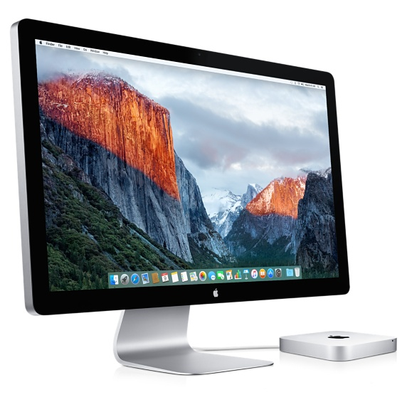 Apple Thunderbolt Display Mac mini