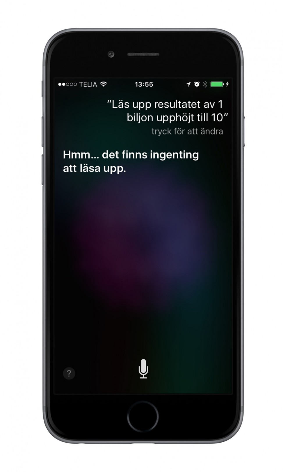 iPhone 6 Siri biljon