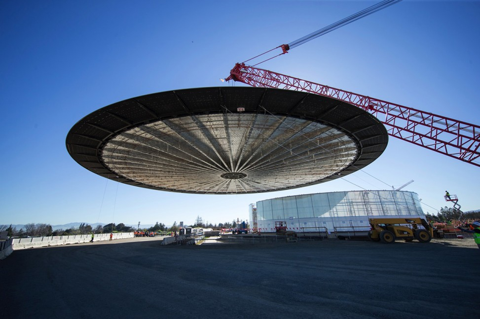 Apple Campus 2 UFO