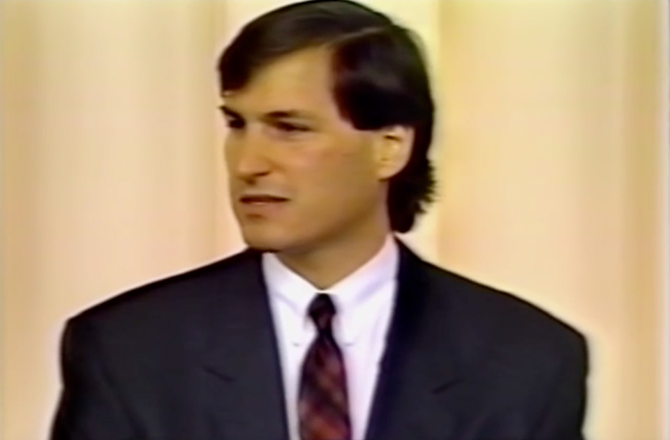 Steve Jobs business look