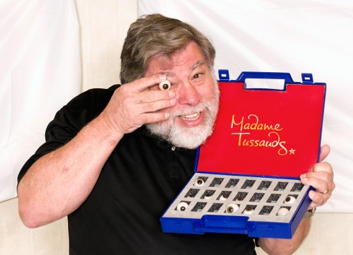 Steve Wozniak wax sitting