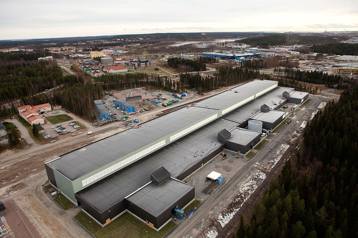 Facebook Data Center Luleå