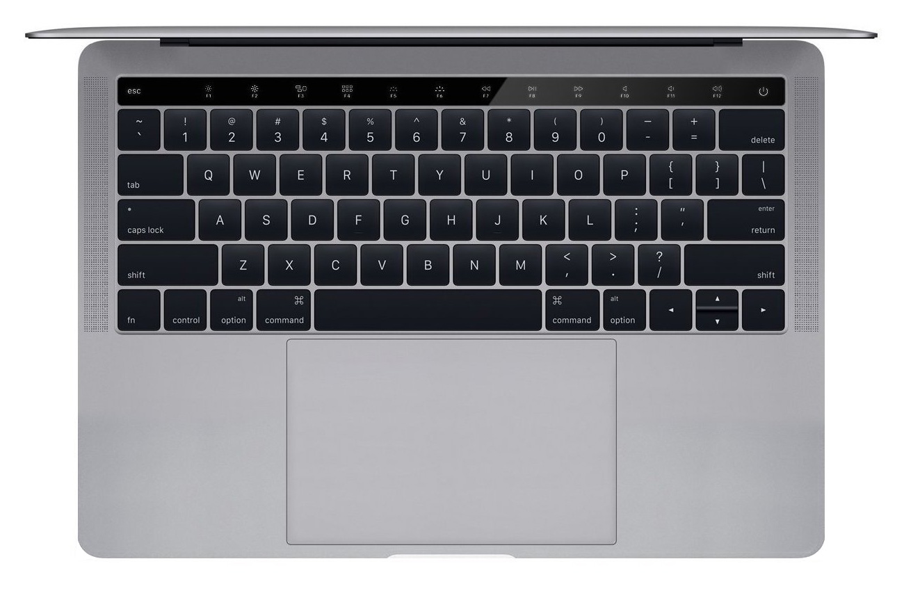 MacBook Pro OLED fn keys