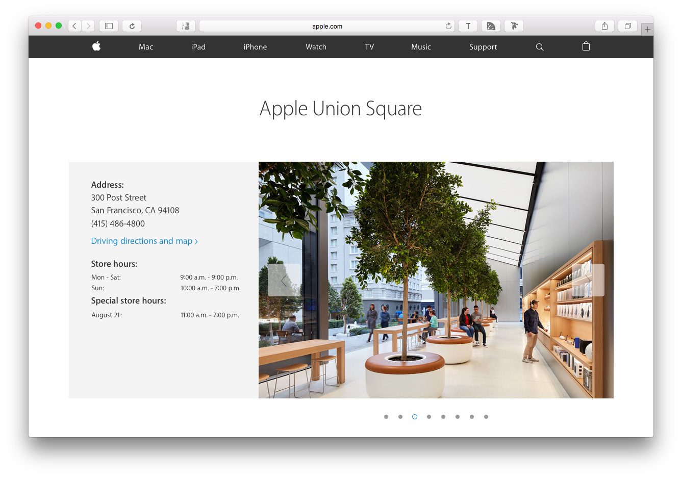 Apple Union Square