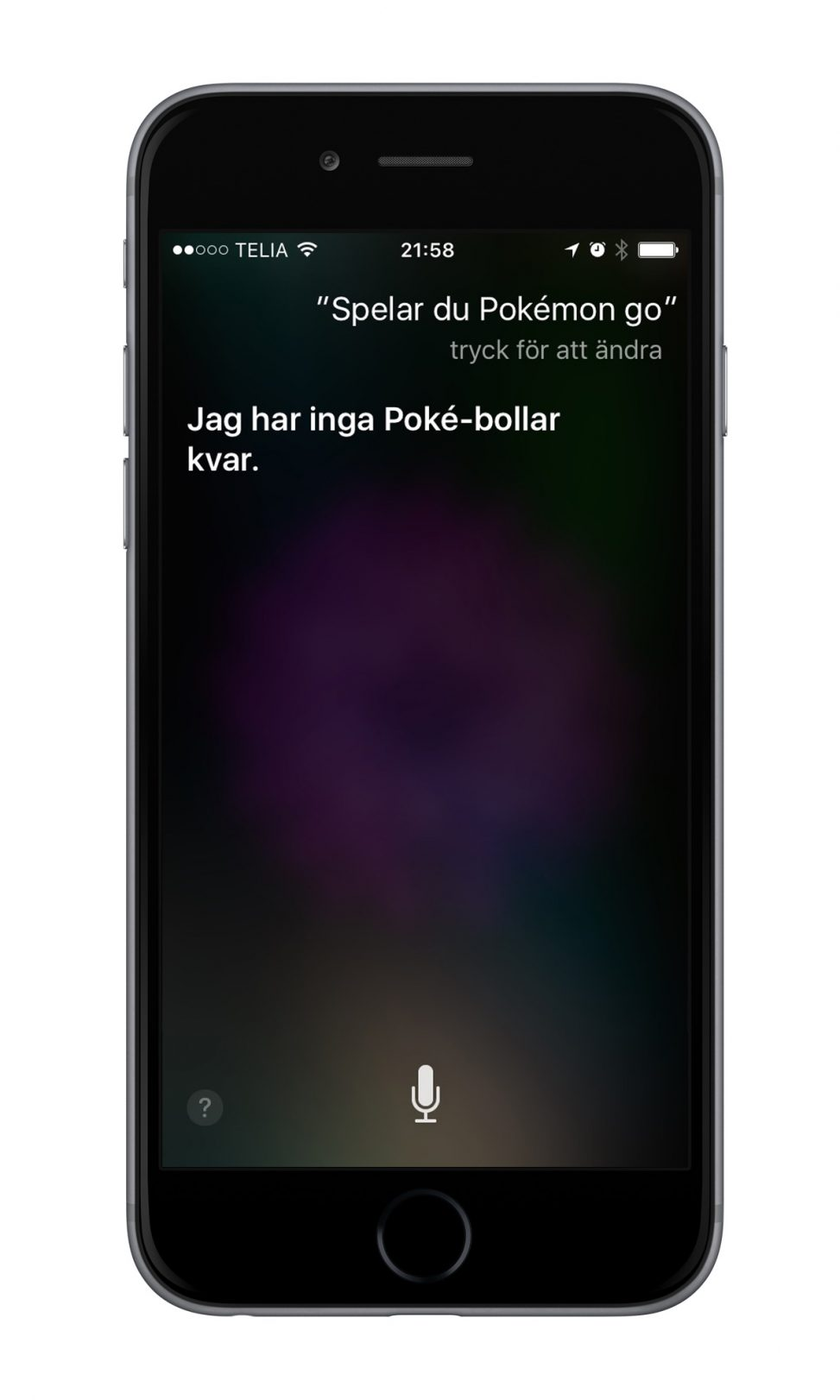 iPhone 6 Siri Pokémon