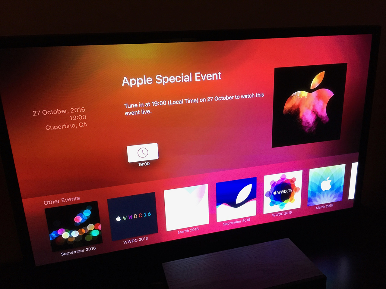 Apple Special Event October 2016