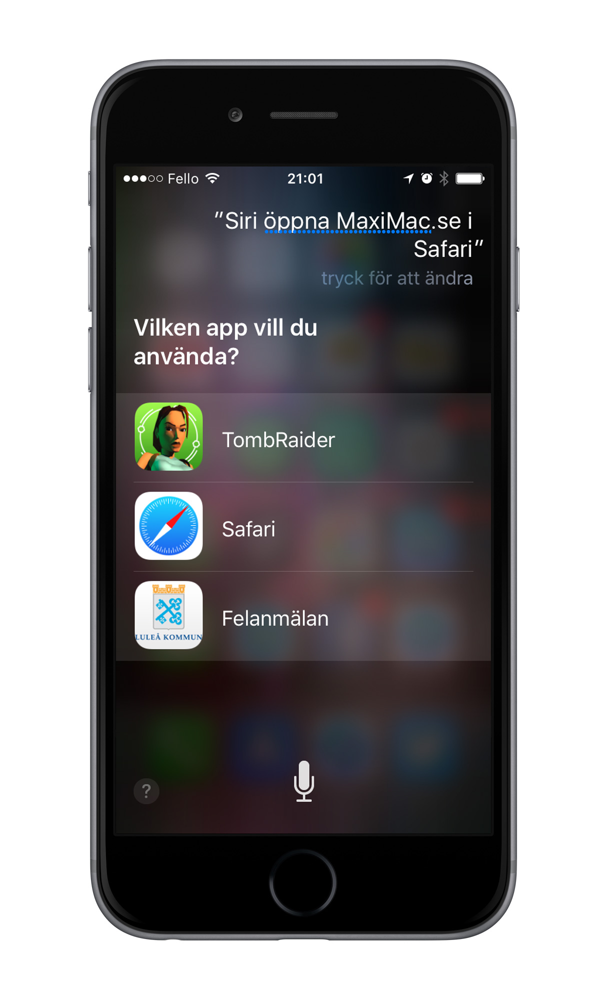 Siri MaxiMac iPhone 6
