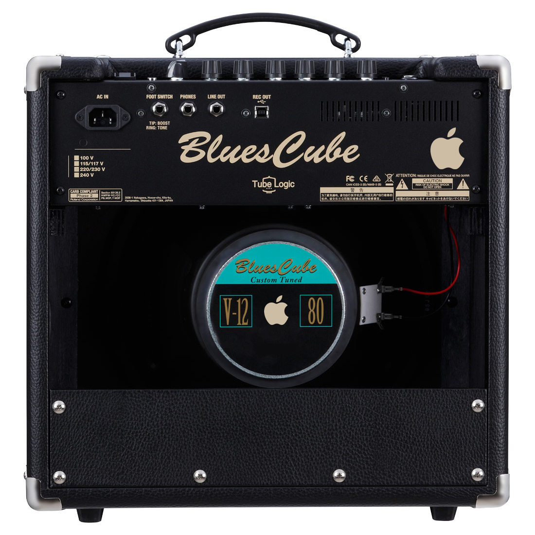 Apple Blues Cube