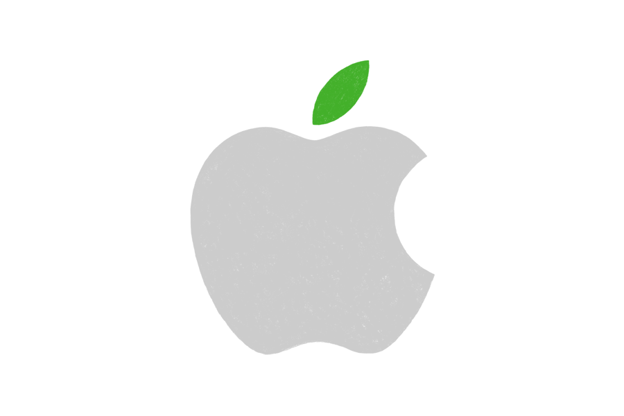 Apple green logo