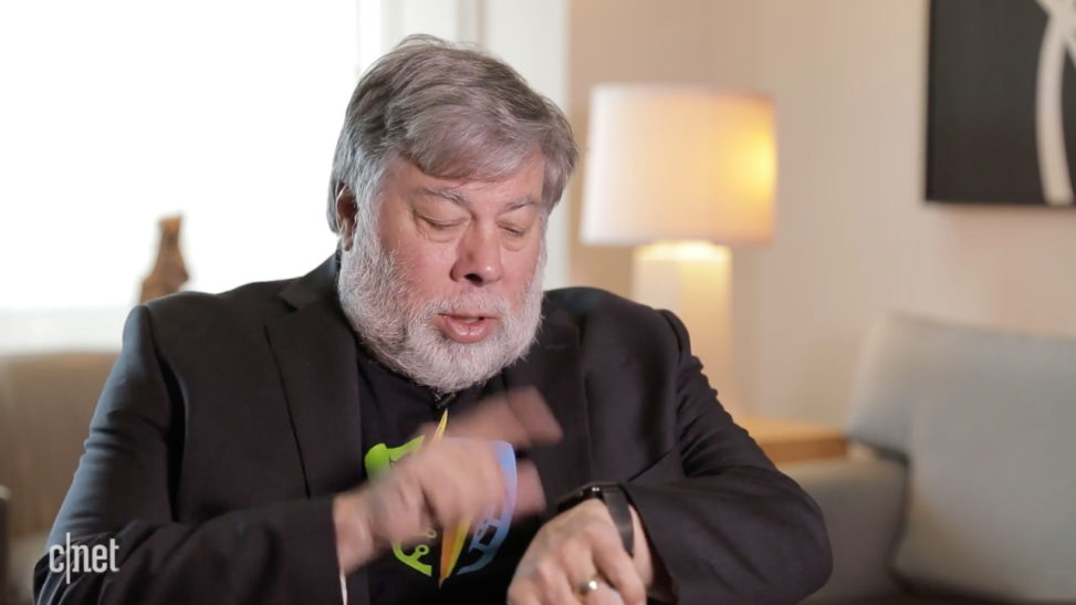 Steve Wozniak Apple Watch