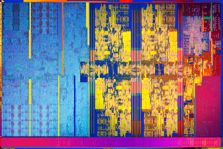 Intel Core die