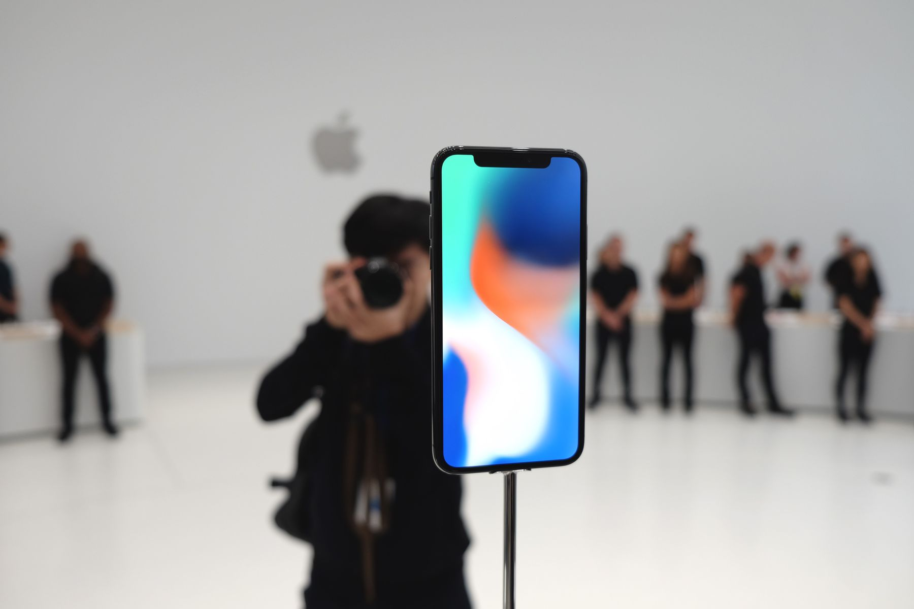 Steve Jobs Theater iPhone X