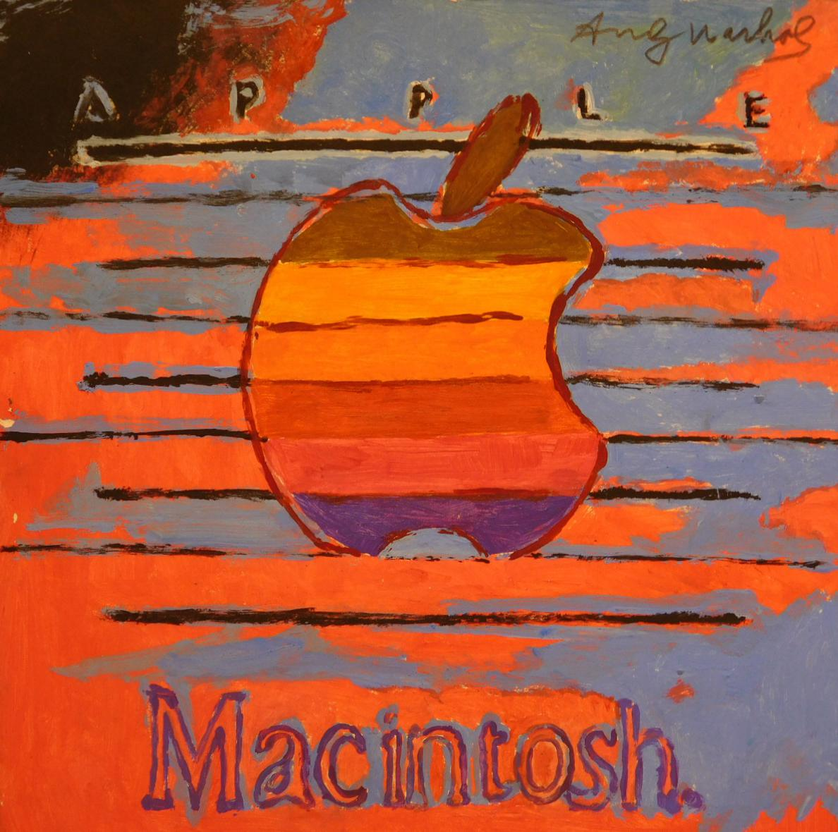 Andy Warhol Macintosh
