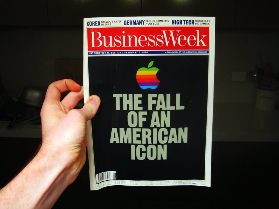 Businessweek cover february 1996